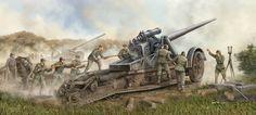German 170 mm Heavy Artillery Battery
