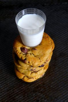 Chocolate Chip Nutella Cookies