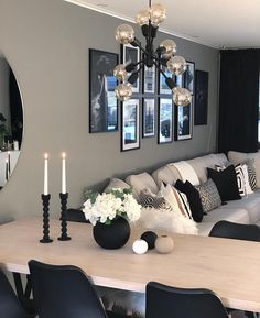 Tag Your Friends Who'd Love This Design! Swipe left to see more from this beautiful house, cosy decoration with lovely… Cosy Decor, Living Room Decor Cozy, Home Living Room, Apartment Living, Living Room Designs, Apartment Ideas, Room Colors, Decorating Your Home, Decorating Ideas