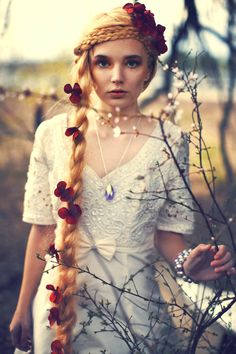 a melancholy Rapunzel....Photography by Sarah Ann Loreth    This photo was taken on March 25, 2012 using a Canon EOS 5D Mark II.