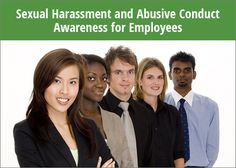 Sexual Harassment prevention course includes information on sexual harassment laws, types of harassment, general discrimination, retaliation, and remedies. Online Training Courses, Workplace, Remedies, Office Workspace
