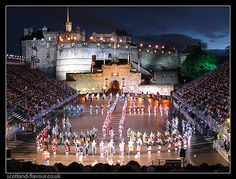 Edinburgh Tattoo, Scotland