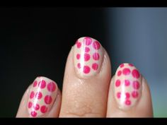 Tutoriel Nail art inspiration Vuitton X Yayoi Kusama