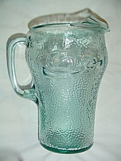 Coca Cola Coke Green Mint Serving Pitcher. Click the image for more information.