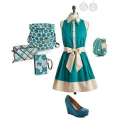 This great dress looks even better paired with the Thirty One Accessories shop at: www.mythirtyone.com/470618
