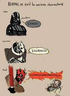 Maul, honey. Please chill.