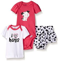 Gerber Baby Three-piece Bodysuit Lap-shoulder Shirt and Skort Set, Dalmatian, New Born Gerber http://www.amazon.com/dp/B0194R2PXE/ref=cm_sw_r_pi_dp_9iq7wb1XWQG5M