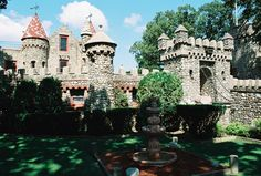 The Bettendorf Castle- Fox River Grove, Illinois. I used to live a few blocks down from this castle! :)