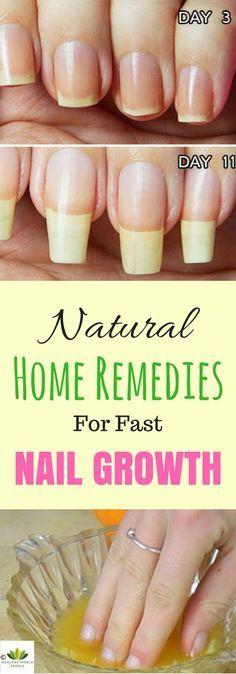 natural nail growth remedies | краса і здоров\'я | Pinterest | Nail ...