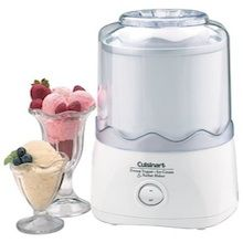Heavy-duty motor makes frozen yogurt, ice cream, sherbet, sorbet or frozen drinks in 20 to 30 minutes. Easy to use--no salt or ice required; Electric ice-cream maker produces up to quarts in about 20 minutes. Ice Cream Maker Machine, Best Ice Cream Maker, Electric Ice Cream Maker, Icecream Machine, Yogurt Ice Cream, Keto Ice Cream, Homemade Ice Cream, Cuisinart Ice Cream Recipes, Parfait