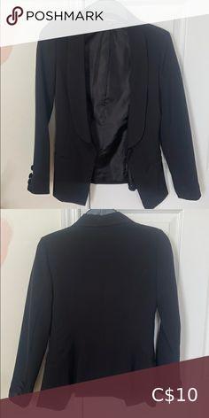 Black Vest Blazer Black blazer Jackets & Coats Blazers & Suit Jackets Black Vest, Black Blazers, Blazers For Women, Black Velvet Blazer, Striped Blazer, Corduroy Blazer, Long Blazer, Knit Jacket, Light Jacket