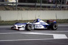 004 · 1997 · Barcelona · Arrows-Yamaha A18 · Damon Hill Damon Hill, Benetton, Yamaha Engines, Gerhard Berger, Barcelona, Sand Rail, F1 Drivers, F1 Racing, Grand Prix