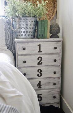 Peindre un meuble avec un effet blanchi patin ou m tal - Decaper un meuble verni ...