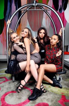 Little Mix photographed by Nicole Cleary in Australia for Daily Telegraph.