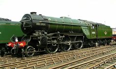 London and North Eastern Railway class 60800 Green Arrow Diesel Locomotive, Steam Locomotive, Train Car, Train Tracks, Old Steam Train, National Railway Museum, Steam Railway, Abandoned Train, Train Pictures