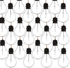 Lightbulbs pattern, black and white Motifs Textiles, Textile Patterns, Textile Design, Fabric Design, Pretty Patterns, Beautiful Patterns, Color Patterns, Surface Pattern Design, Pattern Art