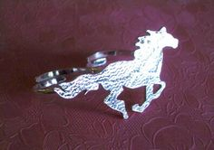 UNICORN TwoFinger Ring Wild Things Series  by PantomymeDesign, $185.00