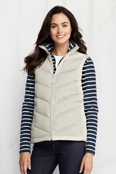 Core Down Vest from Lands' End