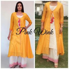 Our shrugs are the ideal way to moderately add love to actually the wearer while still looking stylish. Indian Attire, Indian Wear, Dresses For Teens, Simple Dresses, Indian Dresses, Indian Outfits, Fashion Pants, Fashion Outfits, Kurta Designs