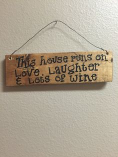 Wine Signs Decor Simple Funny Wine Signs Wine Gifts For Friends Wooden Wine Sign Wine Decorating Design