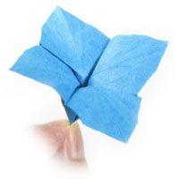 origami hydrangea flower