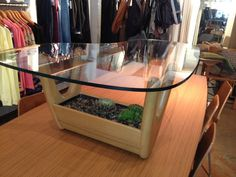 Vintage Adrian Pearsall Coffee Table with Built in by bcdrygoods, $625.00