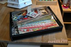Paper Lust: Scrapbook Room, Organization, Part 2