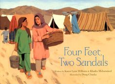 This moving book provides an effective tool for teaching about what it means to be a refugee, how children in refugee camps spend their time, and how the experiences can differ for girls and boys.  Although the topic may be weighty and difficult, the tone is relatively subtle and hopeful so as to appeal to young readers. Intertwined with the touching story are valuable economics lessons about scarcity, human resources, wants, and needs.