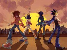 Ha pasado mucho tiempo desde el primer duelo pero aun así un nuevo horizonte nos espera                          ~ Yu-Gi-Oh Series ~ // Duel Monsters // 5D // GX // Zexal