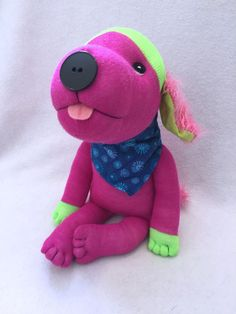 Original Sock Dog Safira Stuffed Animal Dog by originalsockdogs
