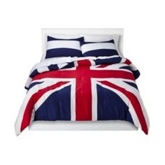 Union Jack Reversible Comforter Set