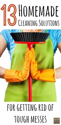 Here are 13 homemade cleaning solutions and tips for tough stains via KansasCityMamas.com