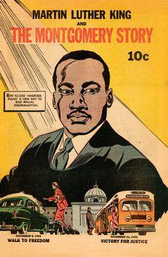 A.R.C.H.I.V.E. Martin Luther King, Comic Book Covers, Comic Books, Comic Art, Bus Boycott, Tahrir Square, Civil Rights Activists, Romance, Rosa Parks