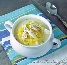 Low Carb Avgolemeno (Greek Chicken, Lemon & Egg Soup) - I Breathe... I'm Hungry...