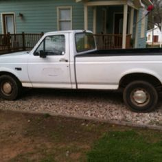 Our '93 Ford F150.