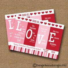 valentines card religious