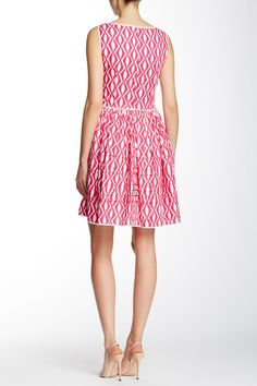 Sleeveless Trimmed Pocket Dress by Oscar de la Renta on @nordstrom_rack