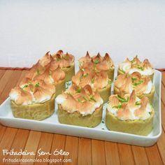 Tortinhas de Limão na AirFryer   Fritadeira sem Óleo - AirFryer