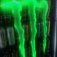 aesthetic photography neon green and black monster energy drinks vending machine alternative grunge edgy Dark Green Aesthetic, Aesthetic Colors, Aesthetic Collage, Aesthetic Grunge, Aesthetic Pictures, Green Aesthetic Tumblr, Aesthetic Outfit, Aesthetic Vintage, Bedroom Wall Collage