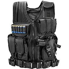 New Marmot Tactical Vest Durable Mesh Vest Detachable Belt & Holster Subcompact/Compact/Standard Pistol - XL online shopping - Totrendyhot Tactical Equipment, Tactical Gear, Tactical Swords, Tactical Packs, Black Tactical Vest, Bushcraft, Edc, Pistol Holster, Holsters