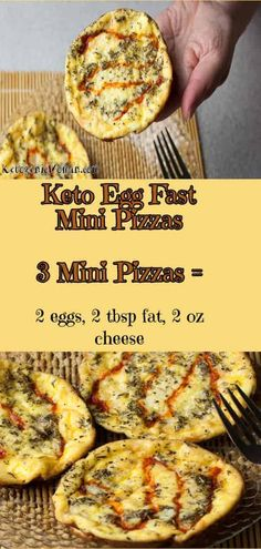 Mini Pizzas, Egg And Grapefruit Diet, Keto Egg Fast, Boiled Egg Diet Plan, Taco Pizza, Egg Pizza, Starting Keto Diet, Low Carb Vegetables, Diet Food List
