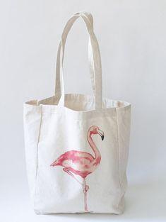 Flamingo Beach Tote Bag Beach Bag Beach Tote Summer Essentials