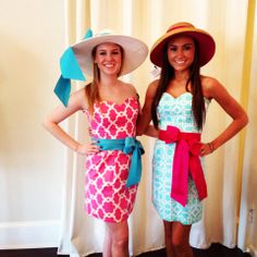 Ahh scrolling through Pinterest and a picture of my cousin and her friend pop up! Modeling LaRoque!