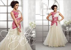 Designer anarkali gowns salwar suit buy from Fancy Gowns, Pink Gowns, White Gowns, White Dress, Indowestern Gowns, Net Gowns, Designer Evening Gowns, Designer Gowns, Anarkali Gown