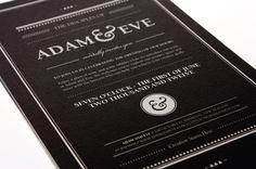 Adam & Eve Law Firm Branding by Raewyn Brandon, via Behance