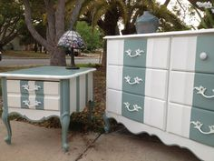Shabby Chic French Provincial Dresser by JenniferParisDesigns,