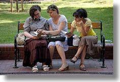 women relaxing