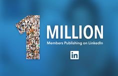 We just crossed 1 million publishers on LinkedIn. Here's what we've learned about why you keep posting. We just reached an incredible milestone for the LinkedIn publishing platform: 1 million professionals have now written a post on LinkedIn. They've used the platform to discuss the future of work,