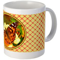 Butterfly Design Small Mug
