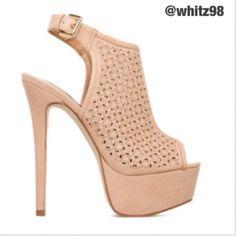 "Selling this ""Nude pumps"" in my Poshmark closet! My username is: whitz98. #shopmycloset #poshmark #fashion #shopping #style #forsale #Izabella rue #Shoes"